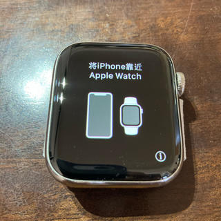 Apple Watch - Apple Watch 4(44mm)シルバーステンレス