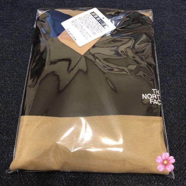 THE NORTH FACE(ザノースフェイス)の送料無料 限定品 ケルプタン XXLサイズ ノースフェイス ヌプシシャツ メンズのトップス(Tシャツ/カットソー(半袖/袖なし))の商品写真
