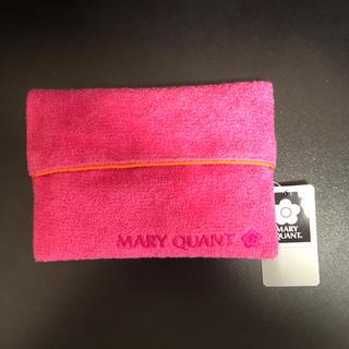 マリークワント(MARY QUANT)のかわいいMARY QUANT 新品ティッシュケース天然素材(その他)