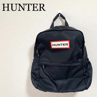 ハンター(HUNTER)の★未使用★HUNTER ハンター リュック 黒 ロゴマーク(リュック/バックパック)