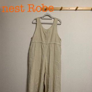 ネストローブ(nest Robe)の【nest Robe】リネン サロペット【ネストローブ】(サロペット/オーバーオール)