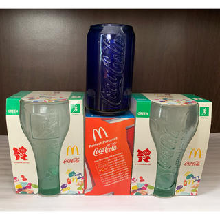 コカコーラ(コカ・コーラ)のグラス3点セット(グラス/カップ)