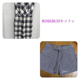 ローズバッド(ROSE BUD)のROSEBUDローズバッド2点セット♡(セット/コーデ)