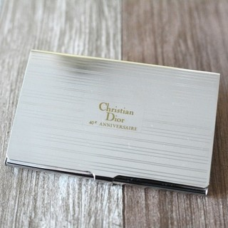 Christian Dior - Christian Dior 40th メタリック カードケース