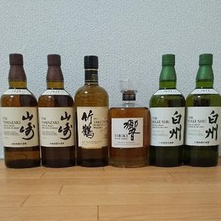 白州 山崎 響JH 竹鶴 ウイスキー 6本セット