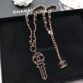 CHANEL - シャネル chanel  ロング ネックレス 鍵