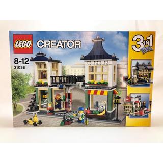 Lego - 【新品未開封】レゴ  レゴクリエイター 31036 おもちゃ屋と町の小さなお店