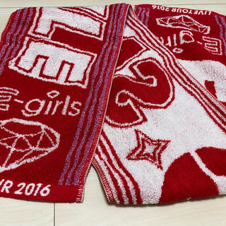 イーガールズ(E-girls)のE-girls LIVE TOUR 2016  マフラータオル(国内アーティスト)
