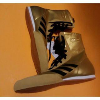 アディダス(adidas)のアメリカ限定モデルUSA adidas ☆ボクシングレスリング☆27.5cm(ボクシング)