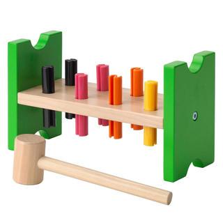 イケア(IKEA)のIKEA(イケア) MULA おもちゃ ハンマートイ, マルチカラー(知育玩具)