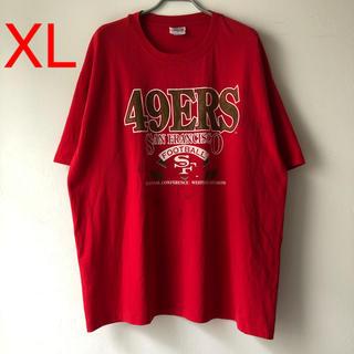 ヘインズ(Hanes)の90s NFL San Francisco 49ers Tee XL Tシャツ(Tシャツ/カットソー(半袖/袖なし))