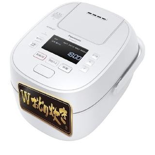 Panasonic - パナソニック 炊飯器 5.5合  wおどり炊き 可変圧力IH SR-MPW100