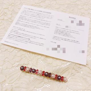アッカ(acca)のacca メタルミックス バレッタ[ショート](バレッタ/ヘアクリップ)
