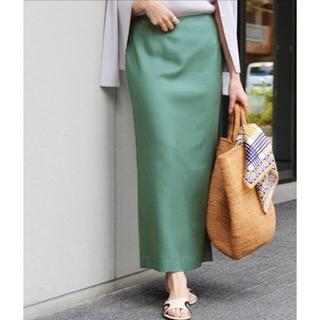 IENA - ライトツイルタイトスカート
