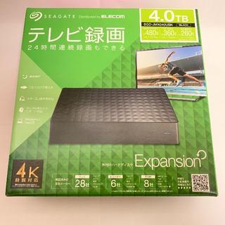 【新品】ELECOM SGD-JMX040UBK 4TB/ブラック