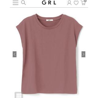 GRL - ★新品 GRL フレンチスリーブTシャツ ピンク