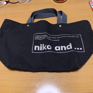 ニコアンド(niko and...)のniko and…トートバッグ(トートバッグ)