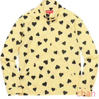 シュプリーム(Supreme)のsupreme Hearts Harrington Jacket(ナイロンジャケット)