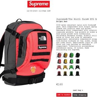 シュプリーム(Supreme)のSupreme/THE NORTH FACE RTG Backpack Brig(バッグパック/リュック)
