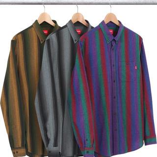 シュプリーム(Supreme)のSupreme'Ombre Striped Shirt'オンブレストラップシャツ(シャツ)