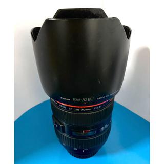 Canon - Canon EF28-70mm f2.8L usm フード付き