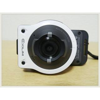 カシオ(CASIO)の【超貴重】美品 CASIO EX-FR10 1400万画素(コンパクトデジタルカメラ)
