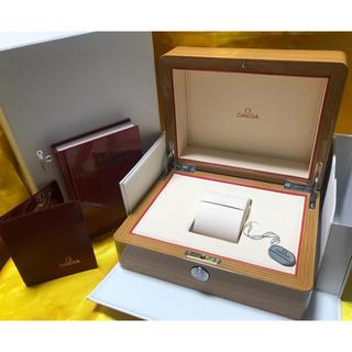 OMEGA - ★ OMEGA オメガ 高級 木製 大型 腕時計ケース 美品 ★ 保管品