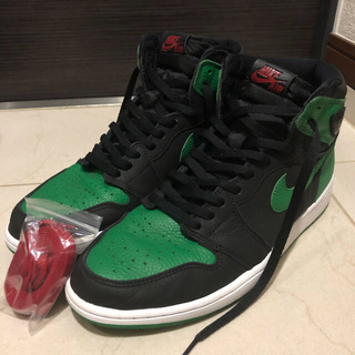 NIKE - Air Jordan1 high pine green ジョーダン1 30cm