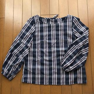 クチュールブローチ(Couture Brooch)のクチュールブローチ チェック柄 ブラウス 36(シャツ/ブラウス(長袖/七分))