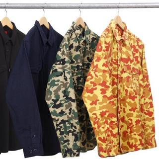 シュプリーム(Supreme)のSupreme'Field Shirt'フィールドシャツ 迷彩 ワーク シュプ(シャツ)