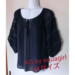 エージーバイアクアガール(AG by aquagirl)のAG by aquagirl ブラウス(シャツ/ブラウス(長袖/七分))
