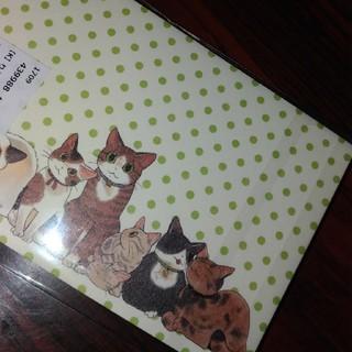 フェリシモ(FELISSIMO)の猫ミニ便箋(カード/レター/ラッピング)