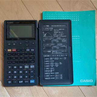カシオ(CASIO)の関数電卓 fx 4800 操作マニュアル(説明書)あり カシオ(オフィス用品一般)