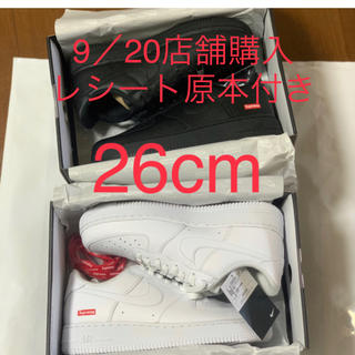 シュプリーム(Supreme)のSupreme®/Nike® Air Force 1 Low(スニーカー)