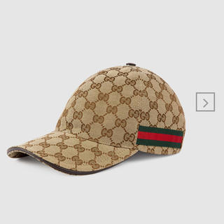 Gucci - GUCCI GGキャンバス ベースボールキャップ