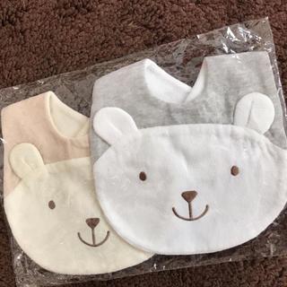 motherways - マザウェイズ クマちゃん スタイ 2枚セット