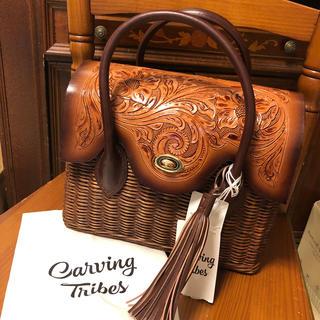 GRACE CONTINENTAL - レアになりそうな予感✨美品MS Rattan Bag カービング ラタンバッグ