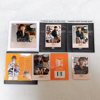 トリプルエー(AAA)のAAA 西島隆弘 カフェ コースター 缶バッジ ステッカー カード(ミュージシャン)