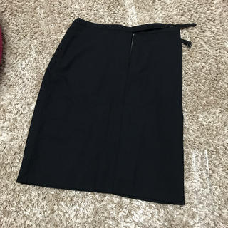 マーガレットハウエル(MARGARET HOWELL)のMargaret Howell 黒スカート(ひざ丈スカート)