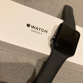 Apple Watch - Apple Watch series3 42mm GPS バンド4本付き