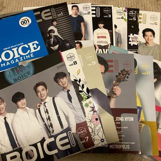 シーエヌブルー(CNBLUE)のみにゅか様専用!CNBLUE BOICE MAGAZINEvol.001~12②(K-POP/アジア)