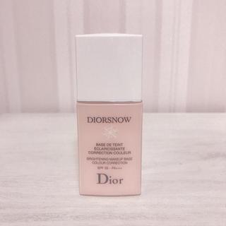 ディオール(Dior)のディオール スノー メイクアップ ベース ローズ(化粧下地)