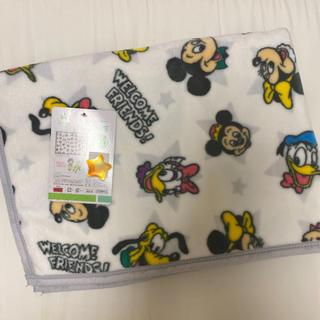 Disney - 新品 Disney ディズニー レトロ ミッキー 毛布 ブランケットひざ掛け