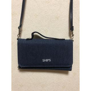 シップス(SHIPS)のSHIPS ショルダーバッグ 財布にもなります(ショルダーバッグ)