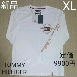 トミーヒルフィガー(TOMMY HILFIGER)の★半額以下【新品】トミーフィルフィガーTシャツ(ロングスリーブTシャツ) XL(Tシャツ/カットソー(七分/長袖))