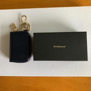 オロビアンコ(Orobianco)のオロビアンコ キーケース 日本製 本革 レザー ネイビー(キーケース)