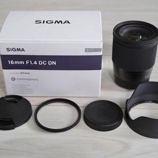 SIGMA - SIGMA 16mm f1.4 DC DN/SE eマウント