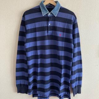 ラルフローレン(Ralph Lauren)のPOLO RALPH LAUREN ポロラルフローレン ボーダー 長袖ポロシャツ(ポロシャツ)