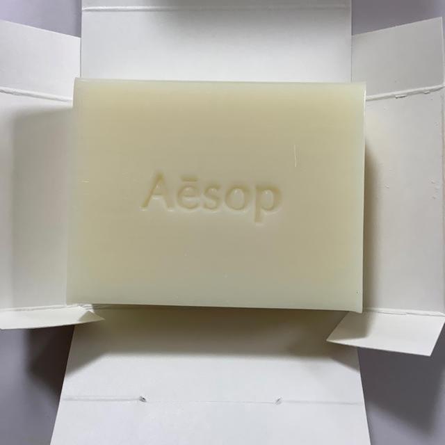Aesop(イソップ)のボディクレンジング ソープスラブ 100g   2個以上巾着サービス  コスメ/美容のボディケア(ボディソープ/石鹸)の商品写真