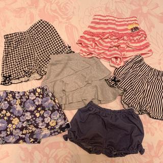 プティマイン(petit main)の80〜90 女の子 スカート&ズボンセット(パンツ)
